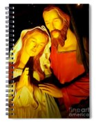 Mary And Joseph Spiral Notebook