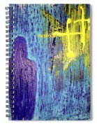 Mary And The Crosses Spiral Notebook