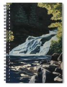 Mary Ann Falls On The Cabot Trail Spiral Notebook