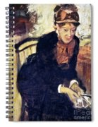 Mary Cassatt (1845-1926) Spiral Notebook