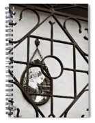Mary Enclosed 2 Spiral Notebook