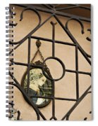 Mary Enclosed Spiral Notebook