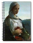 Mary Madgalen Spiral Notebook