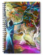 Mary Magdalene And Her Disciples Spiral Notebook