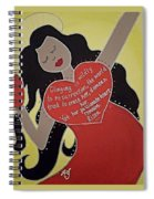 Mary Magdalene Spiral Notebook