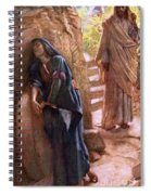 Mary Magdalene At The Sepulchre Spiral Notebook