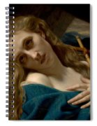 Mary Magdalene In The Cave Spiral Notebook