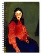Mary Of Connemara 1913 Spiral Notebook