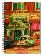 Mary Seltzer Dress Shop Spiral Notebook
