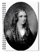 Mary Shelley, English Author Spiral Notebook