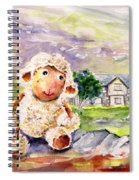 Mary The Scottish Sheep Spiral Notebook