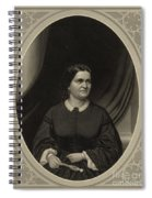 Mary Todd Lincoln, First Lady Spiral Notebook