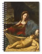 Mary With Child 1635 Spiral Notebook
