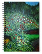 Maryann's Garden 3 Spiral Notebook