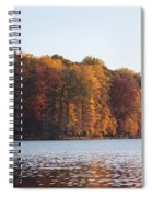 Maryland Autumns - Clopper Lake - Fall Bloom Spiral Notebook