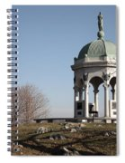 Maryland Monument At Antietam Spiral Notebook