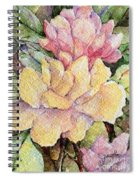 Ma's Roses 1 Spiral Notebook