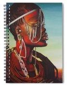 Masai Spiral Notebook