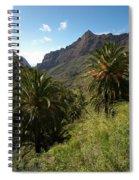 Masca Valley And Parque Rural De Teno 2 Spiral Notebook