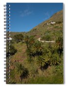 Masca Valley And Parque Rural De Teno 3 Spiral Notebook