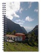 Masca Valley And Parque Rural De Teno 4 Spiral Notebook