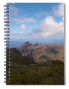 Masca Valley And Parque Rural De Teno Spiral Notebook