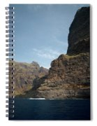 Masca Valley Entrance 1 Spiral Notebook