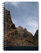 Masca Valley Entrance Panorama Spiral Notebook