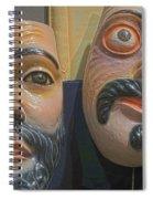 Mascaras 5 Spiral Notebook