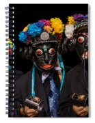 Mascaras Spiral Notebook