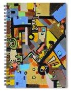 Masculine And Feminine Spiral Notebook