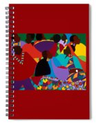 Masekelas Marketplace Congo Spiral Notebook