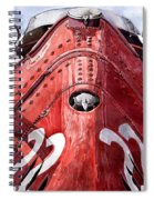 Maserati 250f Alien Spiral Notebook