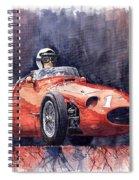 Maserati 250f Spiral Notebook