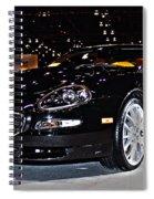 Maserati Gransport Spiral Notebook