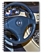 Maserati Interior Spiral Notebook