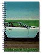 Maserati Khamsin 1974 Painting Spiral Notebook
