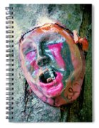 Mask Attached To Trunk 1 Spiral Notebook