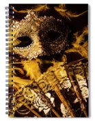 Mask Of Theatre Spiral Notebook