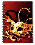 Masked Emotions Spiral Notebook