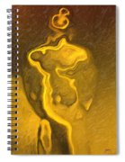 Masked Man Spiral Notebook