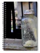 Mason Jar Spiral Notebook