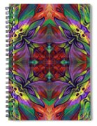 Masqparade Tapestry 7d Spiral Notebook