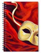 Masquerade 2 Spiral Notebook