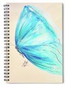 Masquerade Butterfly  Spiral Notebook