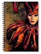 Masquerade Spiral Notebook