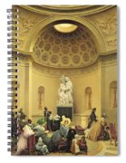 Mass In The Expiatory Chapel Spiral Notebook