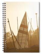 Mass Of Ships Spiral Notebook