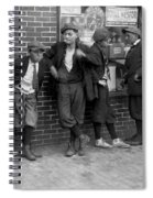 Massachusetts: Gang, C1916 Spiral Notebook