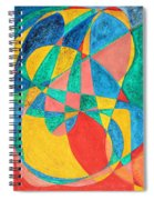 Massage In Abstract Word Art Spiral Notebook